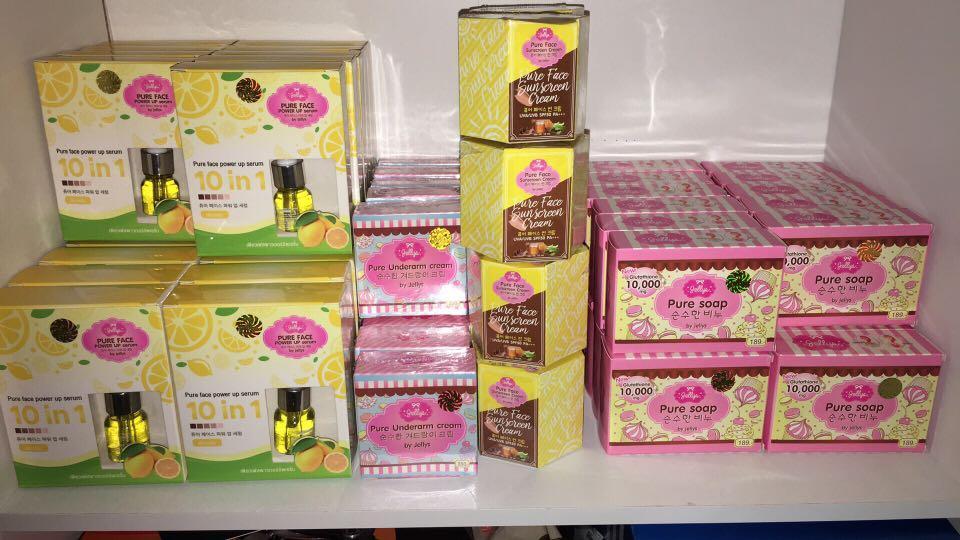 Pure Jellys Underarm Whitening cream original from Thailand