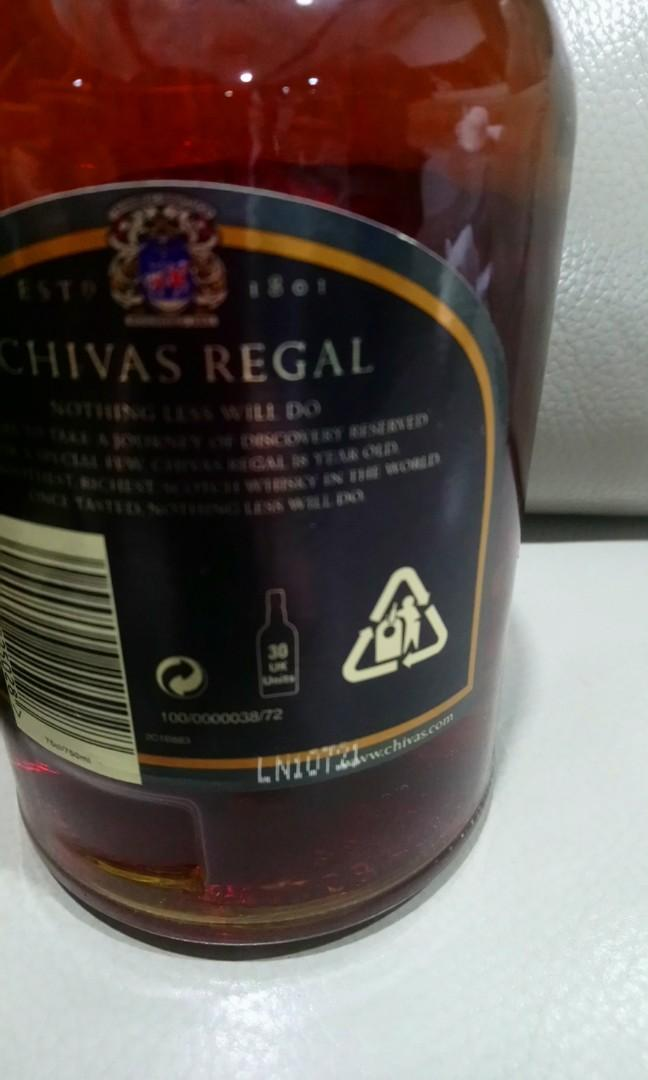 Rare old Chivas Regal 18 years old 75cl