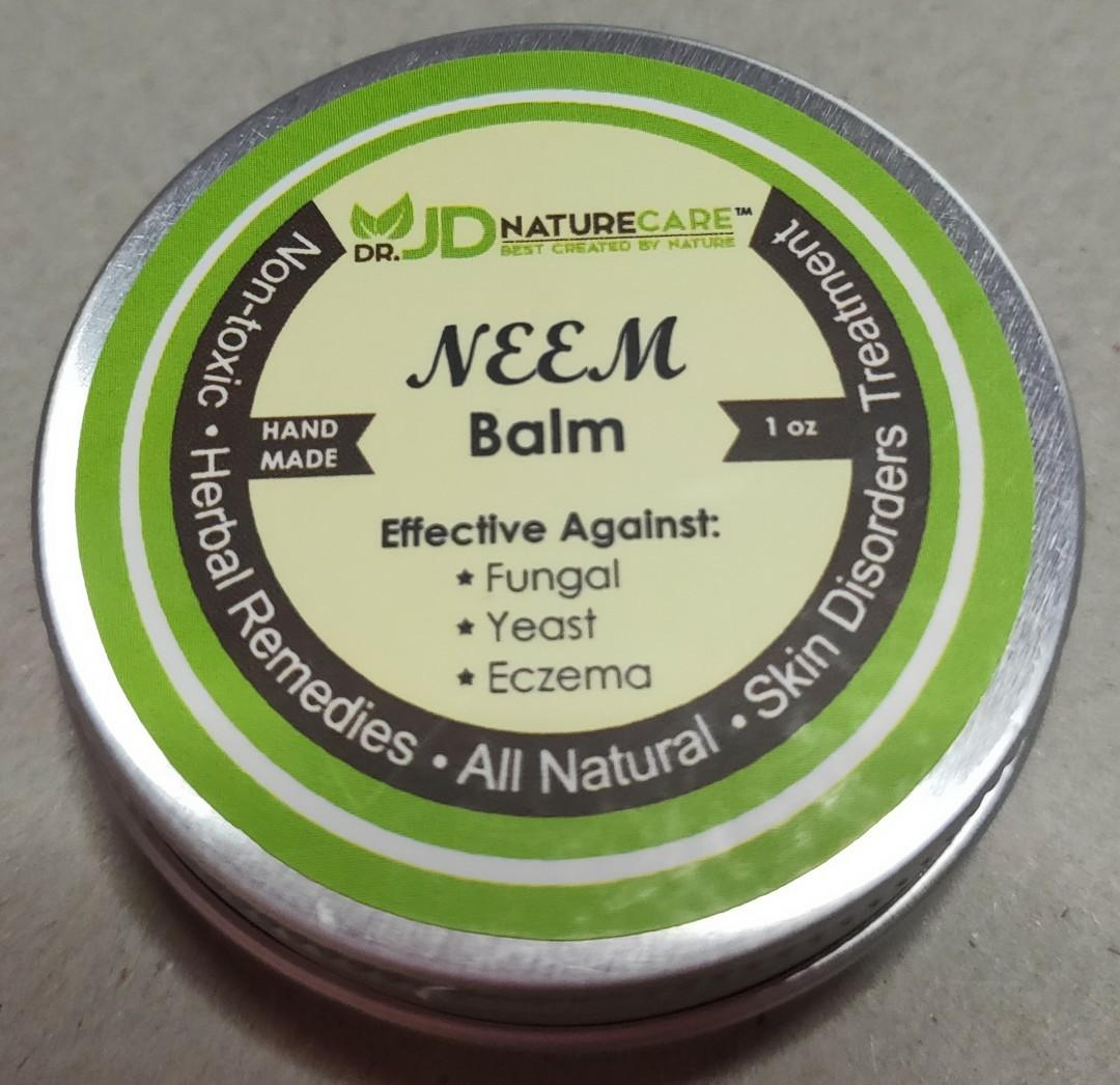 RAW NEEM WITH NATURAL ESSENTIAL OIL BALM