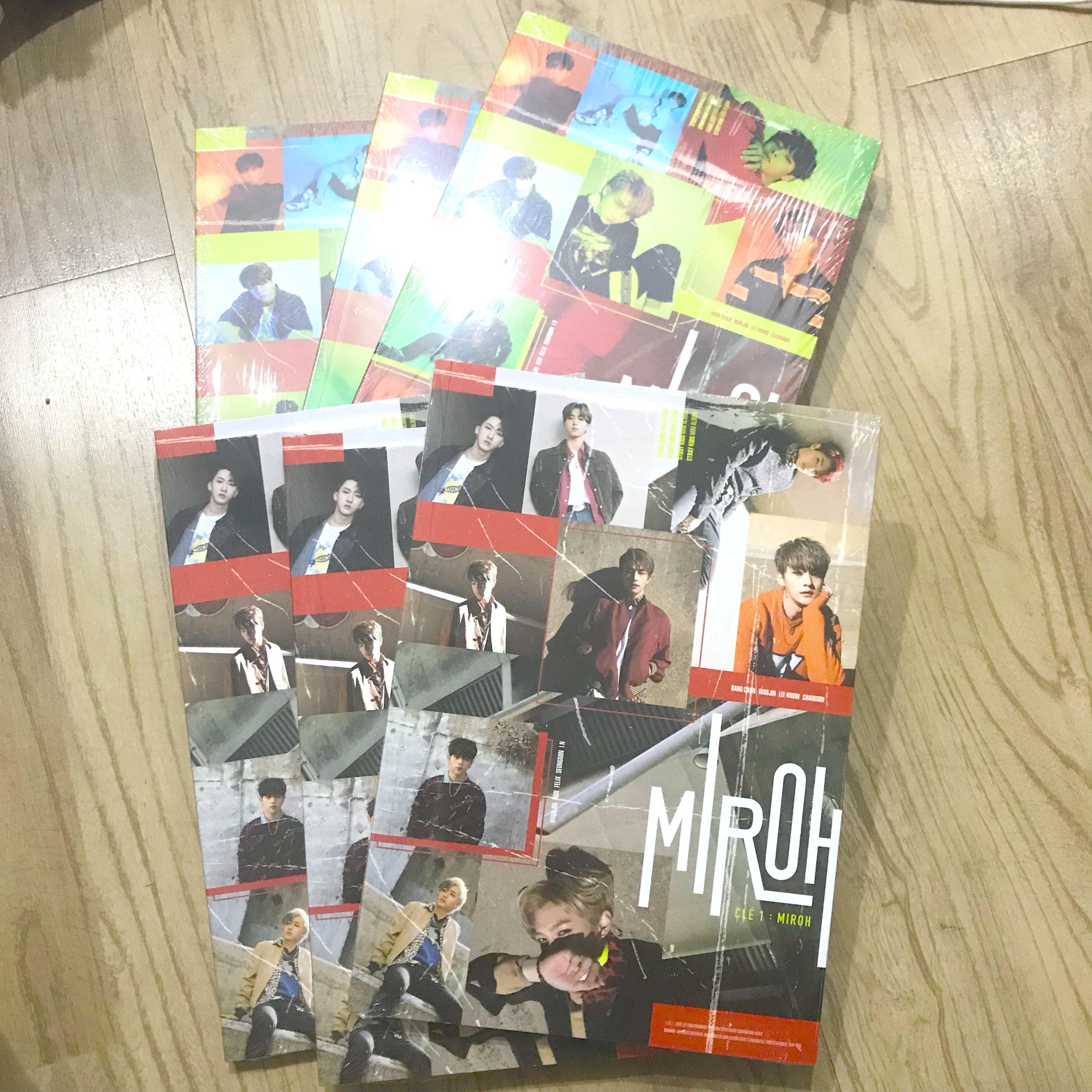 READY STOCK STRAY KIDS STANDARD VERSION ALBUM MIROH CLE