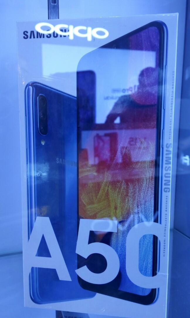 Samsung A50 ready stok dan bisa cicil tanpa bunga tanpa cc