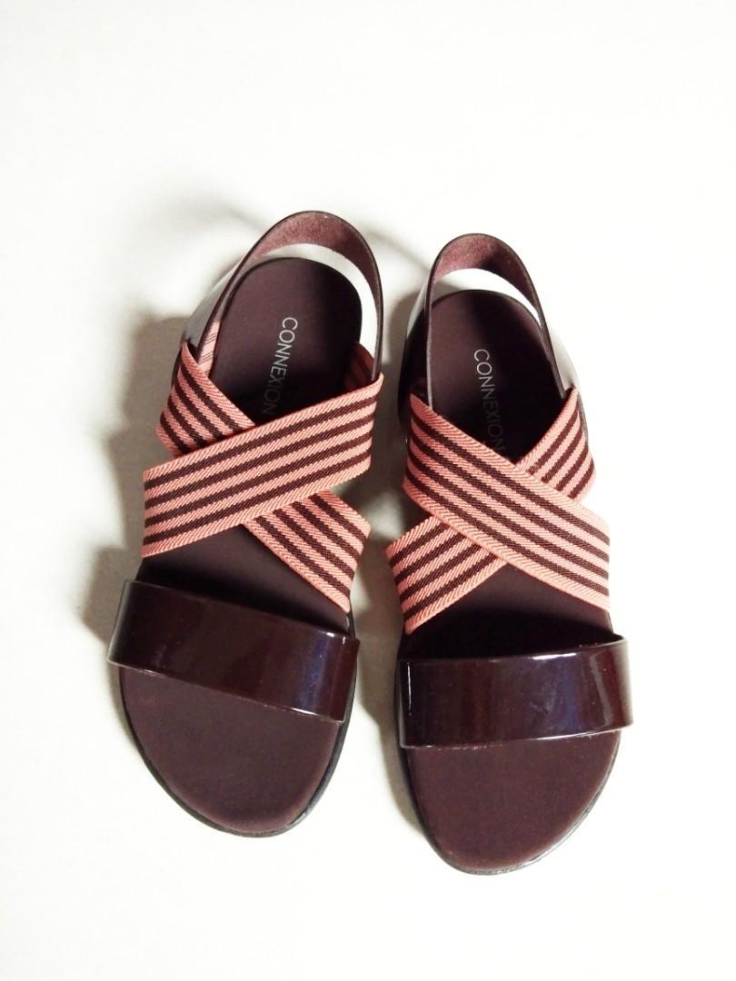 Sandal Comfy Brown color size 36