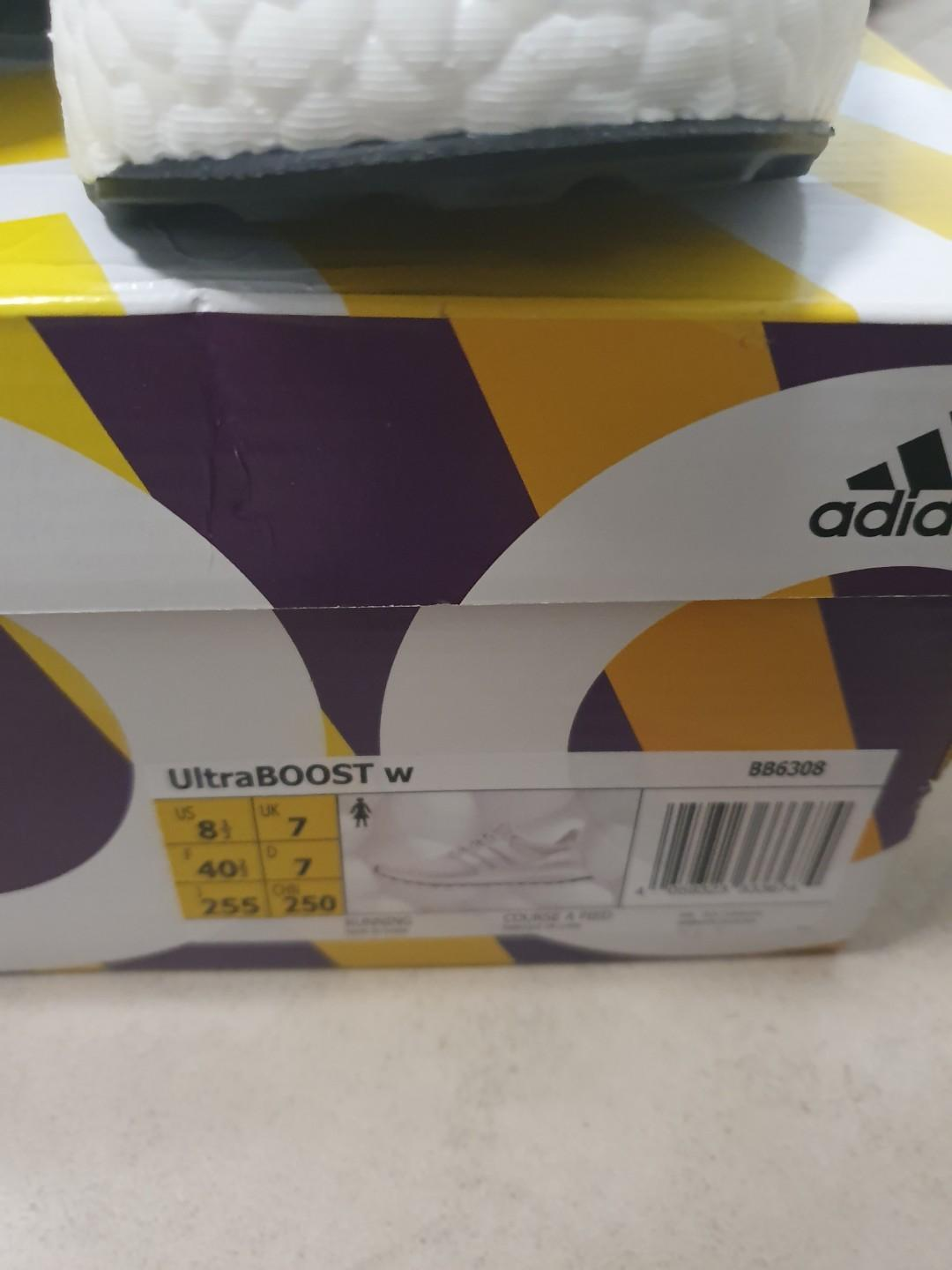 Selling Brand New Women's Adidas Ultraboost triple white shoes size 8.5