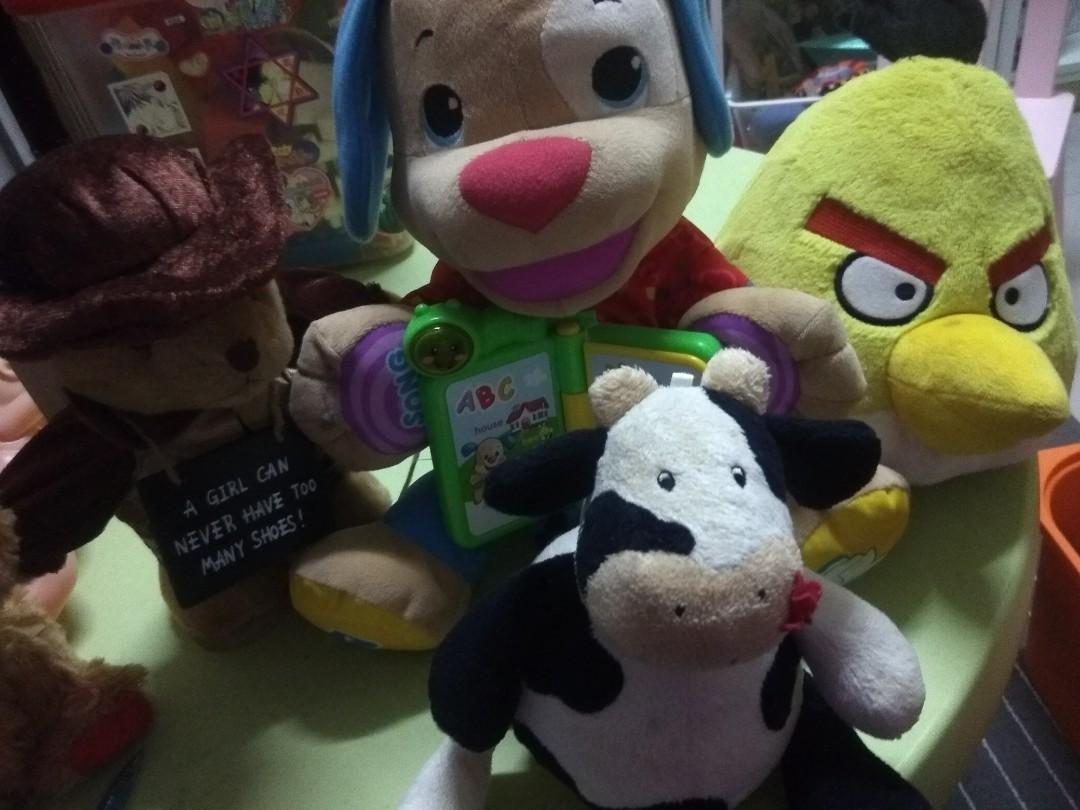 Soft Toys (set of 4)