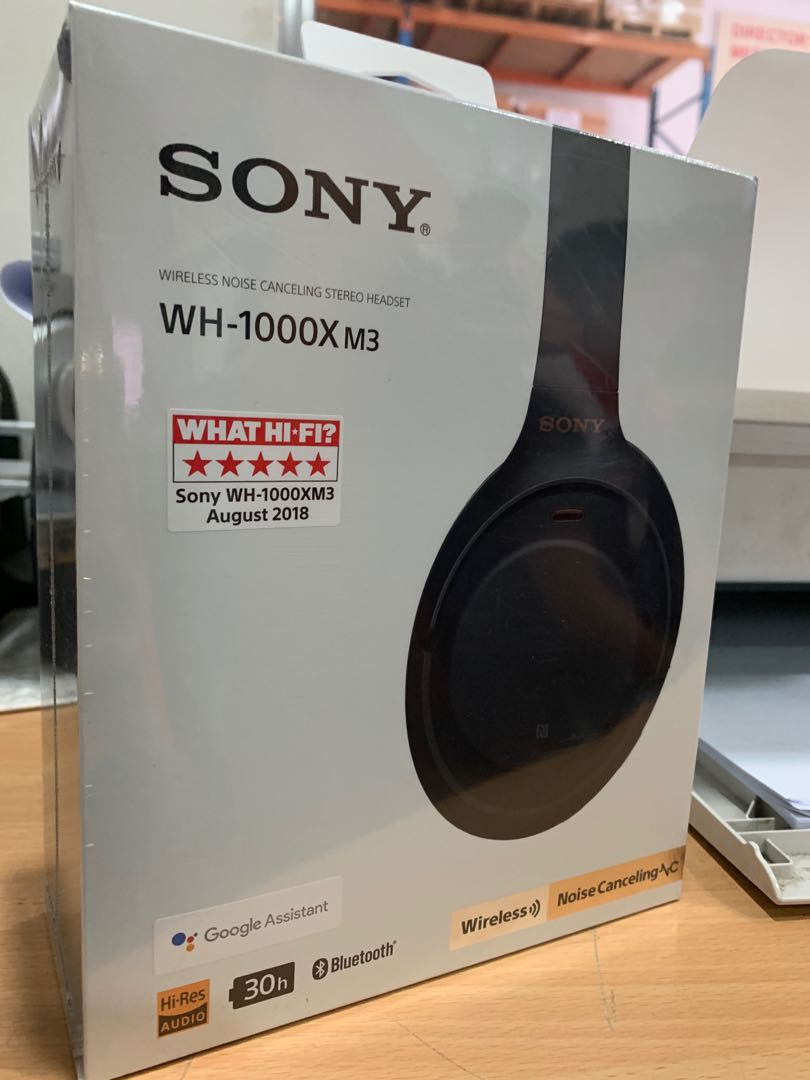 9649d1d6af8 Sony WH-1000XM3 Headphones (XM3), Electronics, Audio on Carousell