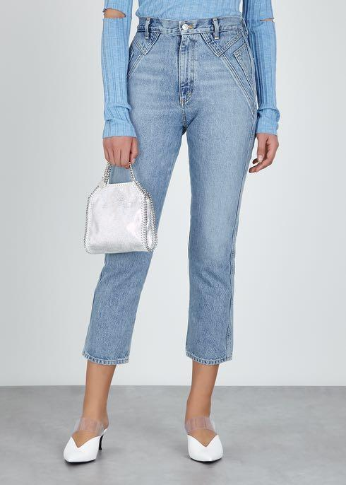 Stella McCartney Falabella tiny holographic shoulder bag