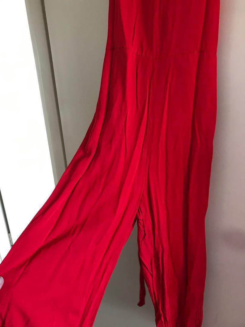 Sussan Red Jumpsuit