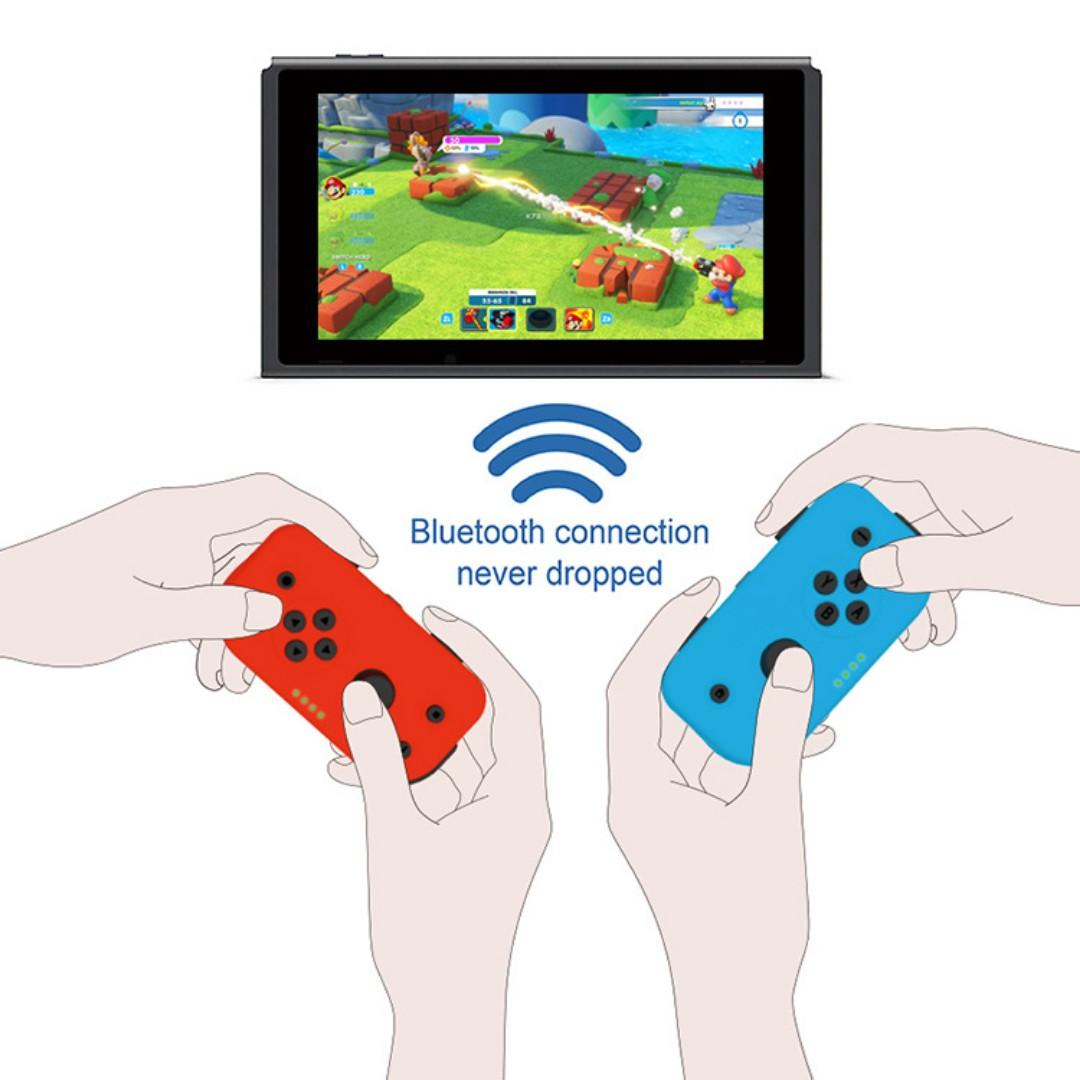 Switch joy con 一對手製 副廠 代用 手制 -- 比原裝更好 switch lite 可用