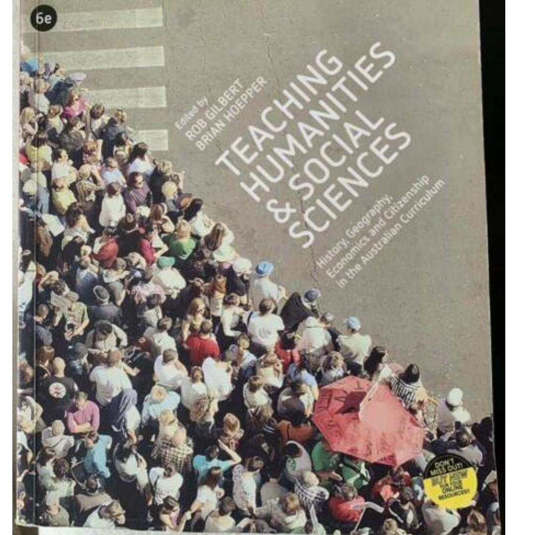 Teaching Humanities and Social Sciences 6th Edition Like New