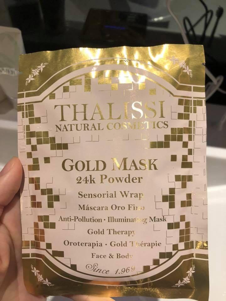 Thalissi 黃金面膜
