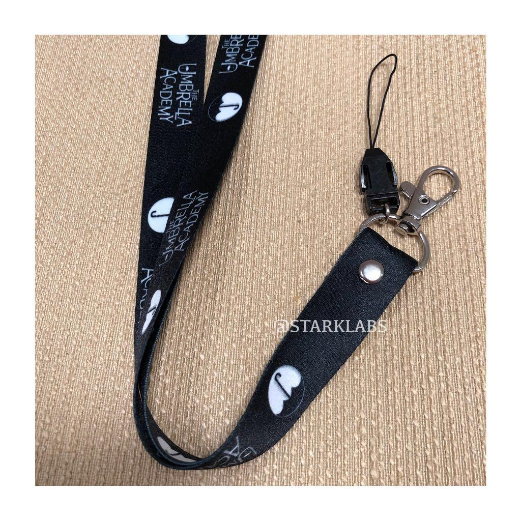 Umbrella Academy Lanyard Id Card Phone Strap