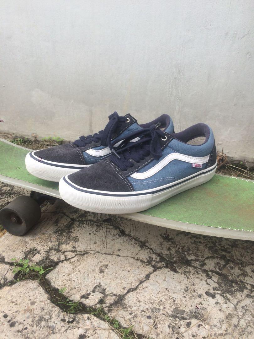 Vans oldskool pro navy blue