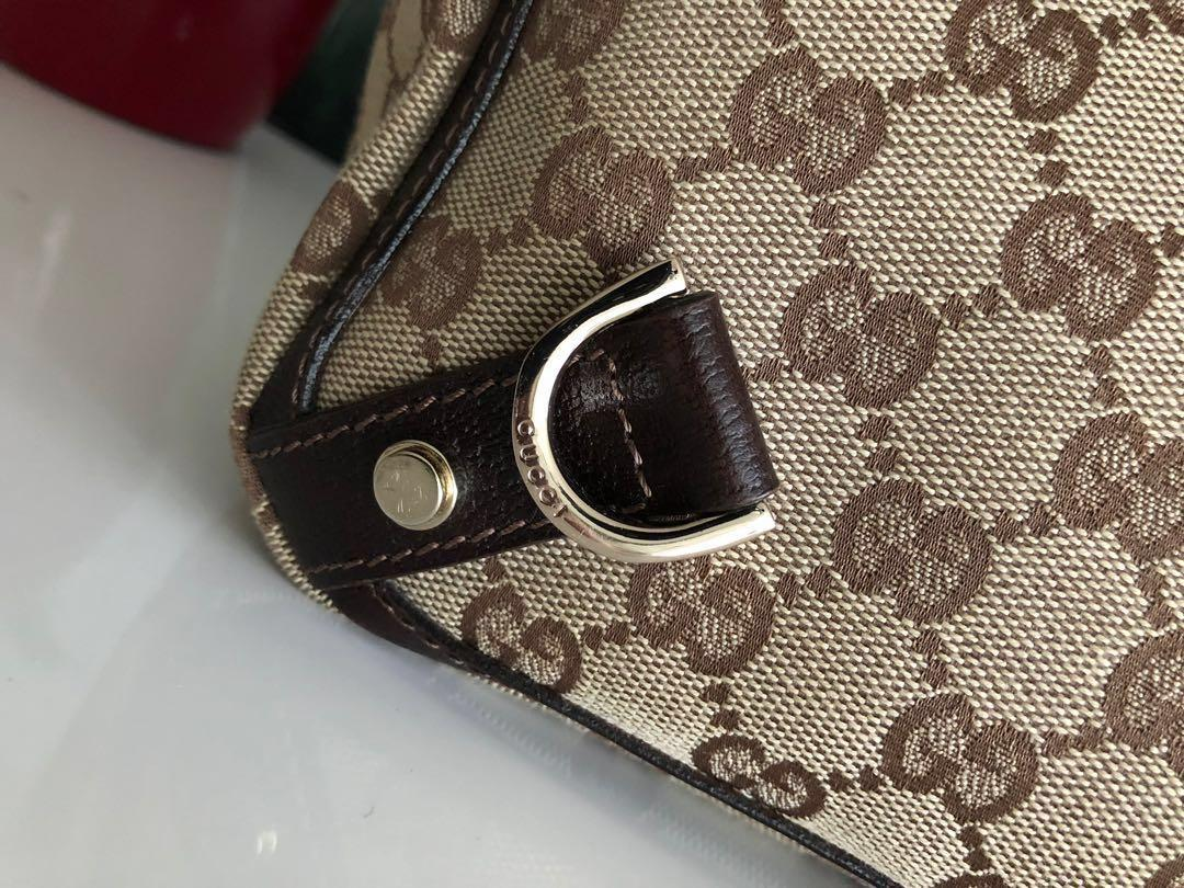 Vintage authentic Gucci D Ring Small Tote