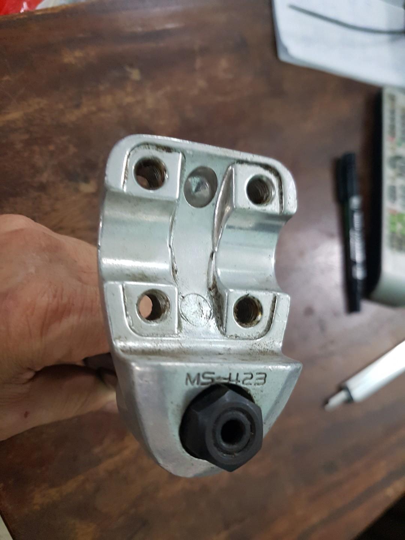 vintage BMX SR MS-423 stem 22.2mm made in Japan. (471)