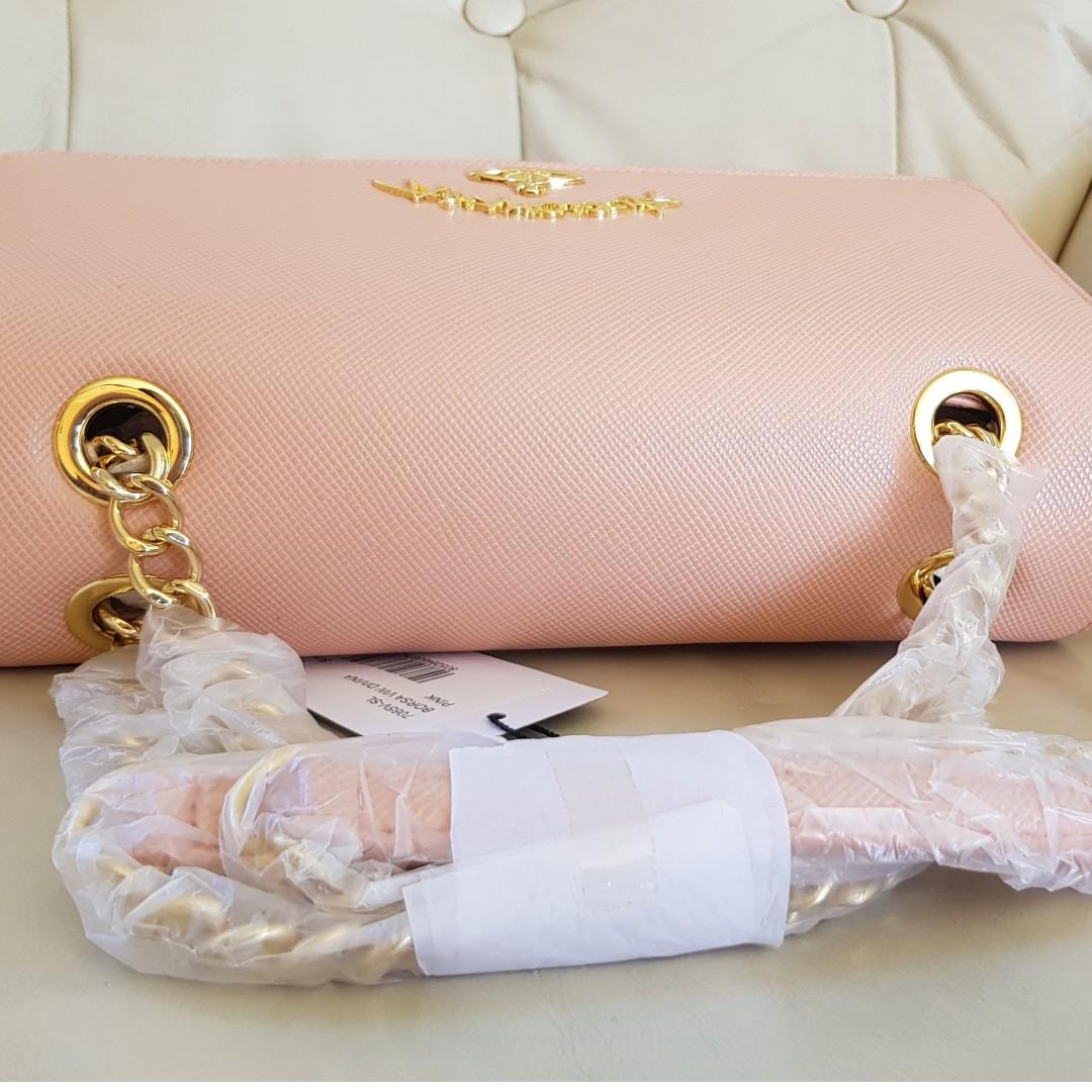 Vivienne Westwood Divina Nude Blush Shoulder Bag Italy