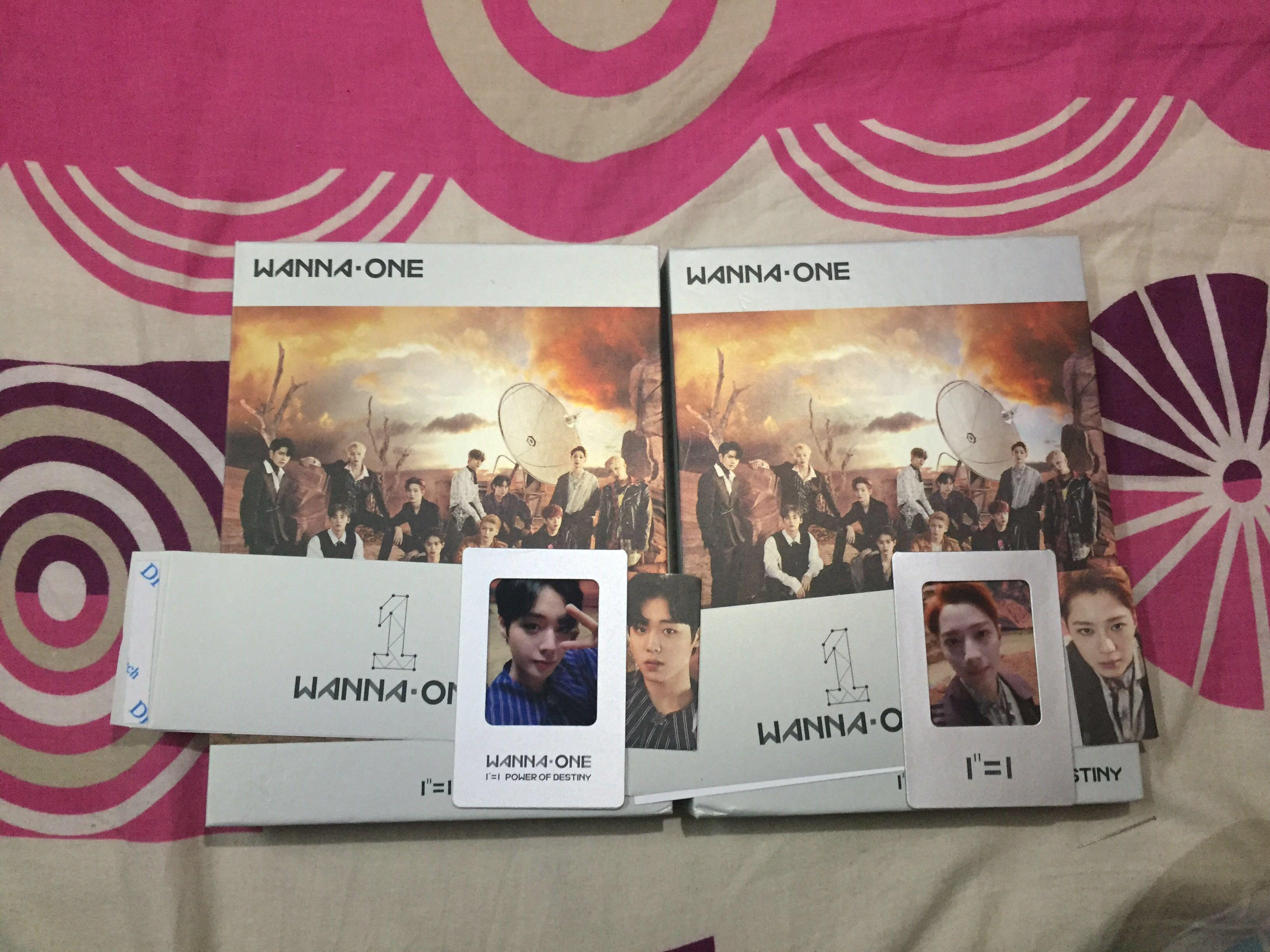 Wanna One Power Of Destiny Album Fullset Jihoon/Kuanlin