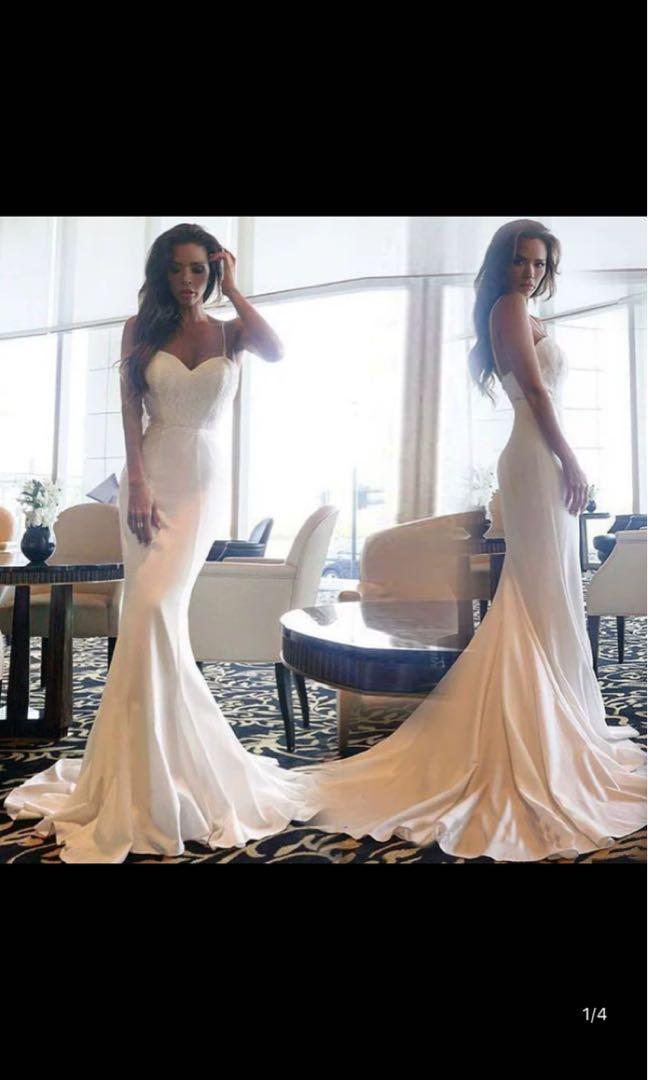 Wedding gown Long dress