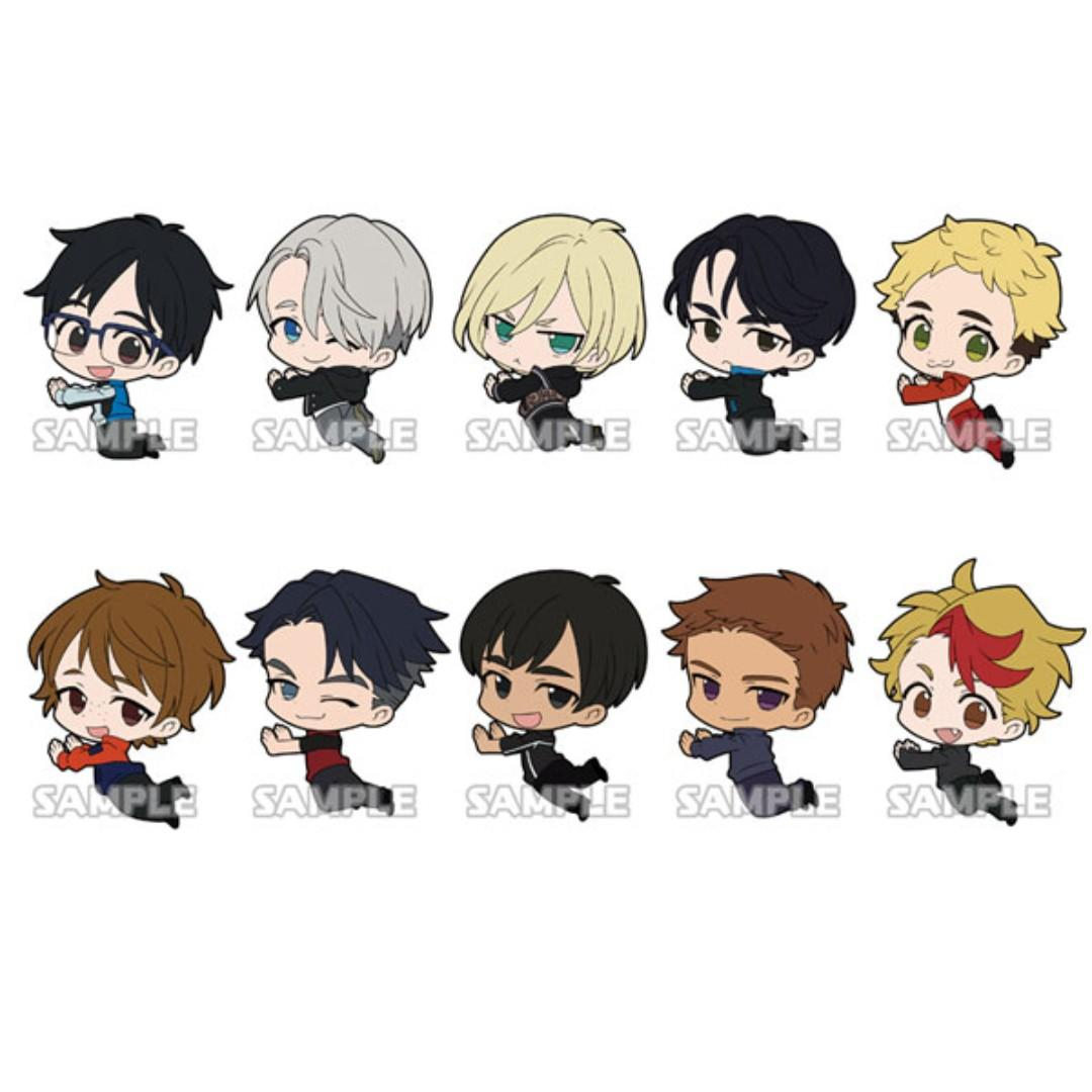 Yuri!!! on Ice - Lee Seung Gil - Rubber Mascot / Suction Cup