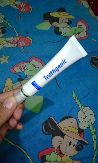Ertos teethgenic (tooth whitening cream)