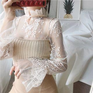 Daisy lace inner in Ivory💜 [READYSTOCK]