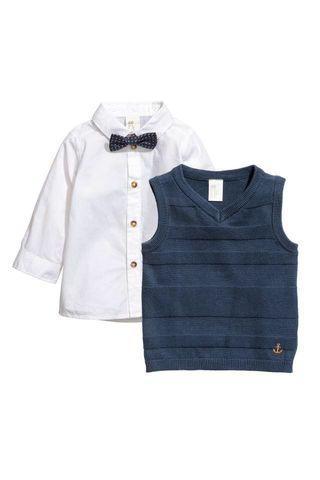 NEW H&M Baby Boy Set