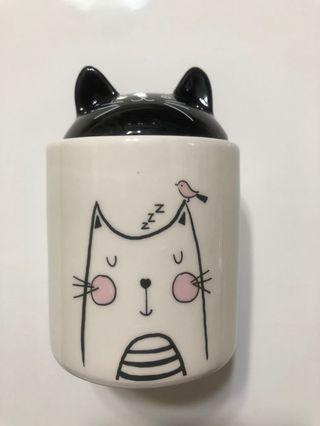 猫猫做型食物瓶