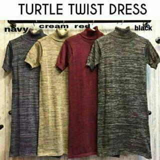 Turtle dress twist