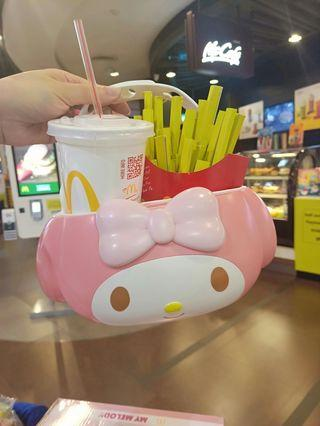 🚚 麥當勞美樂蒂飲料置物盒