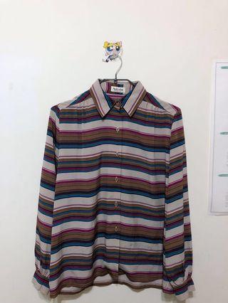 🚚 日本品牌古著襯衫