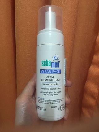 Sebamed Clear Face Active Cleansing Foam