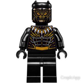 LEGO Erik Killmonger (Golden Jaguar) from Black Panther