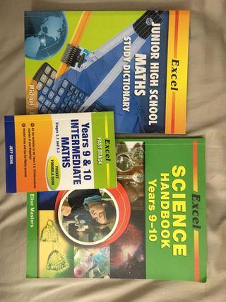 Excel Science & Maths Handbooks Yr9-10