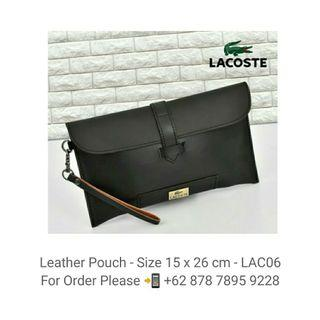 Leather Pouch - Clutch - LAC07