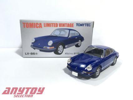 Tomytec Limited Vintage LV-86e Porsche 911S 1968年式 藍色