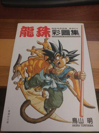 龍珠彩圖集 絕版 (1995)