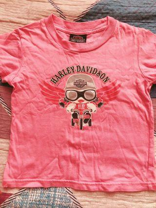 Harley Davidson Girls T-shirt