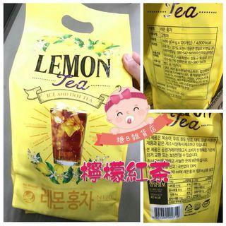 韓國No Brand檸檬紅茶 / 蜜桃紅茶(120包裝)