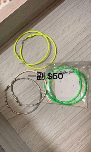 歐美 耳環元耳環
