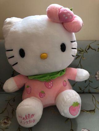 Hello Kitty 特大公仔 士多啤梨
