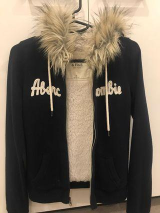 Navy Abercrombie & Fitch Jacket