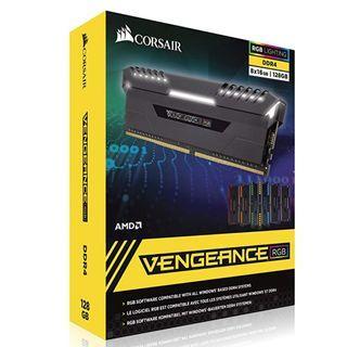 CORSAIR Vengeance RGB 128GB (8x16GB)