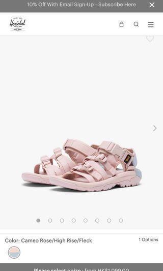 Herschel x Teva sandal 涼鞋