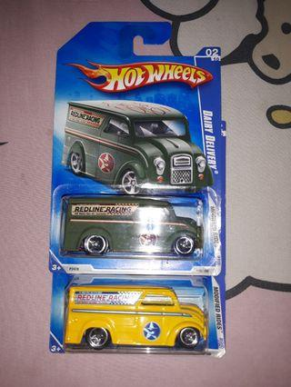 HOT WHEELS Dairy Delivery (2 mobil)