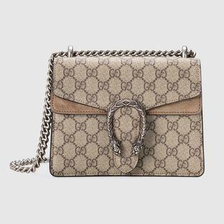 e6324ebb30d7 Gucci Dionysus GG Supreme Mini, Luxury, Bags & Wallets, Handbags on  Carousell