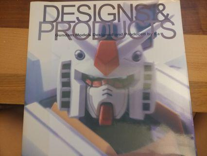 GUNDAM 高達 Katoki Hajime Designs and Products 圖冊
