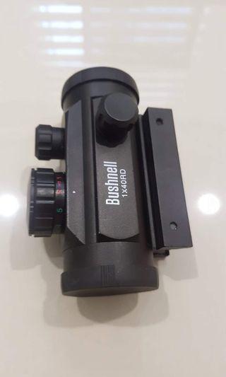 bushnell red dot scope