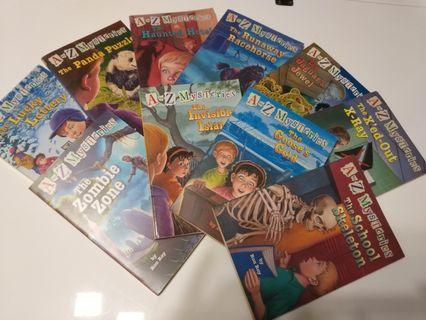 A to Z Mysteries series