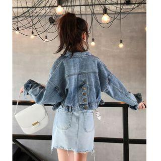 Cowboy Bf Loose Denim Jacket