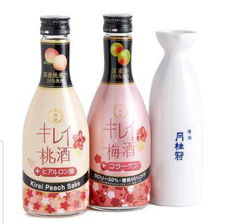 月桂冠 - 美人桃酒及梅酒禮盒