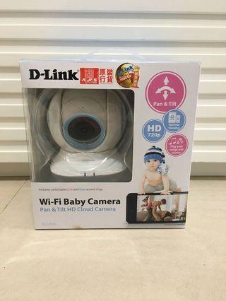 D-Link DCS-855L 嬰兒專用無線旋轉網路攝影機